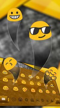 Gold Bat Keyboard Theme screenshot 2