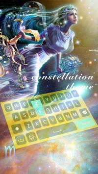 Horoscope keyboard - Free daily Free daily 2018 screenshot 1