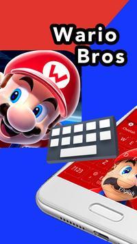 Super Cute Mario Run Keyboard theme screenshot 2