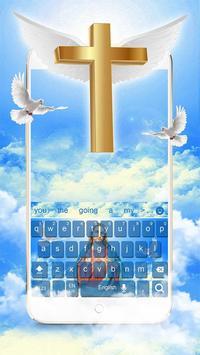 Jesus Christ Keyboard Theme screenshot 1