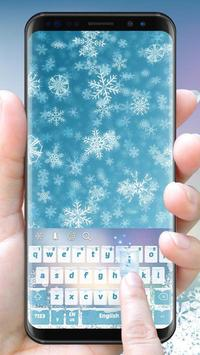 Winter Ice Crystal poster
