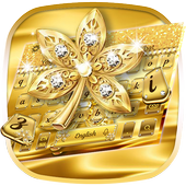 Golden Diamond Leaf icon