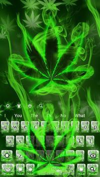 (FREE 2018)Weed Rasta Smoke Keyboard Theme poster