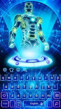 Neon 3D Robot Keyboard screenshot 3