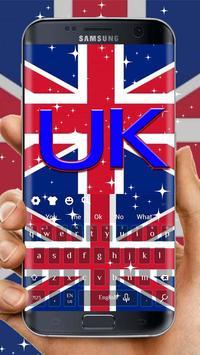2018 British keyboard Theme poster