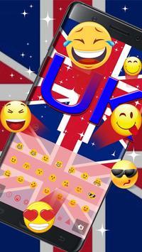 2018 British keyboard Theme screenshot 1