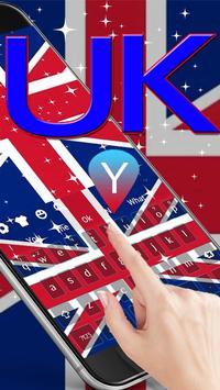 2018 British keyboard Theme screenshot 2