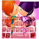 Cute Couple In Love Keyboard APK