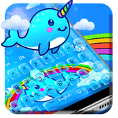 Jubilant Vivid Unicorn Typewriter Theme icon