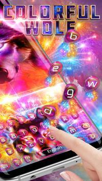 Howling Color Wolf Typewriter Theme screenshot 2