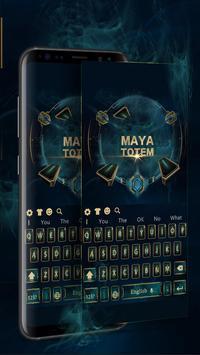 Maya totem magic games keyboard theme screenshot 1