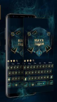 Maya totem magic games keyboard theme screenshot 1