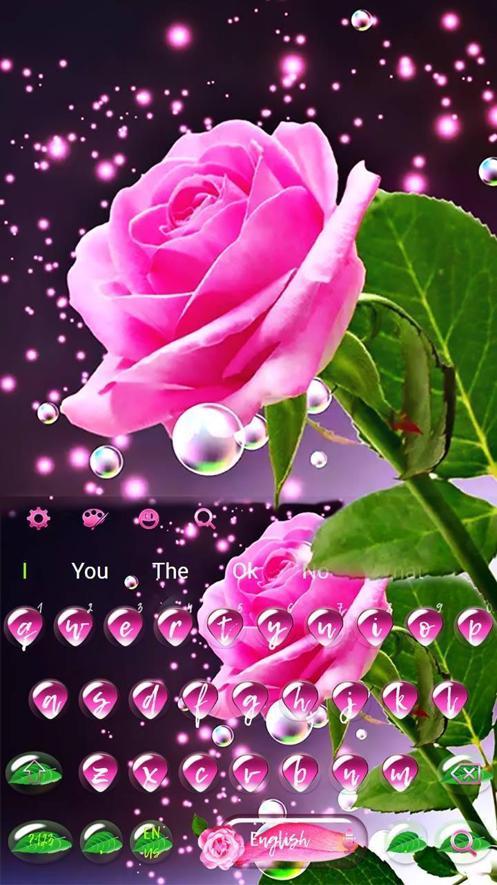 Bunga Mawar Pink Rose Keyboard For Android Apk Download