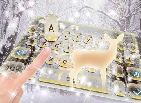 Winter Forest Pure Snow poster