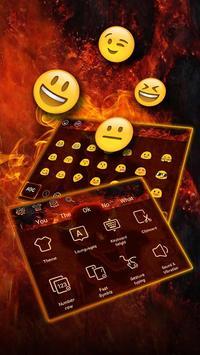 Hell fire devil Keyboard screenshot 3