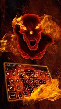 Hell fire devil Keyboard screenshot 1