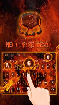 Hell fire devil Keyboard apk screenshot