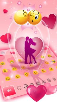 Romantic Valentine Day Keyboard screenshot 1
