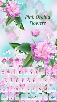 Lovely pink orchid flowers keyboard for android apk download lovely pink orchid flowers keyboard screenshot 3 mightylinksfo