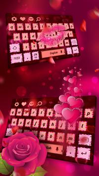 I Love Valentine's Day Keyboard poster