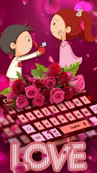 I Love Valentine's Day Keyboard screenshot 1