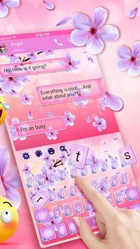 2019 Beautiful SMS Keyboard Themes poster