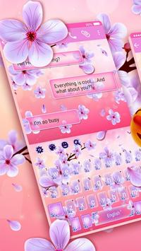 2019 Beautiful SMS Keyboard Themes screenshot 2