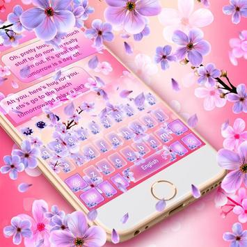 2019 Beautiful SMS Keyboard Themes screenshot 5