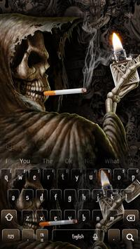 Smoking Skull Lighter Keyboard screenshot 3