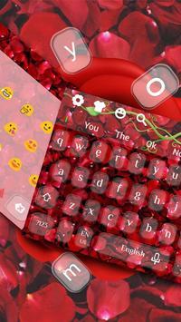 Red rose keyboard screenshot 1