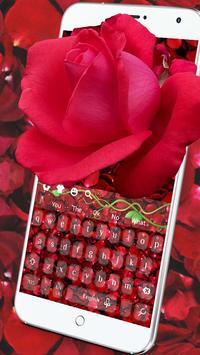 Red rose keyboard screenshot 2