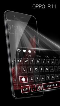 Theme for oppo R11 concise style HD keyboard theme screenshot 5