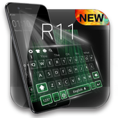 Theme for oppo R11 concise style HD keyboard theme icon