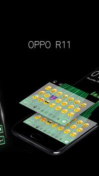 Theme for oppo R11 concise style HD keyboard theme screenshot 2