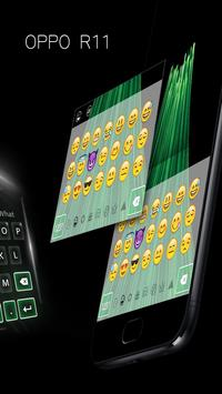 Theme for oppo R11 concise style HD keyboard theme screenshot 6