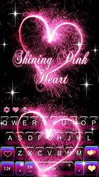 Shining Pink Heart screenshot 1