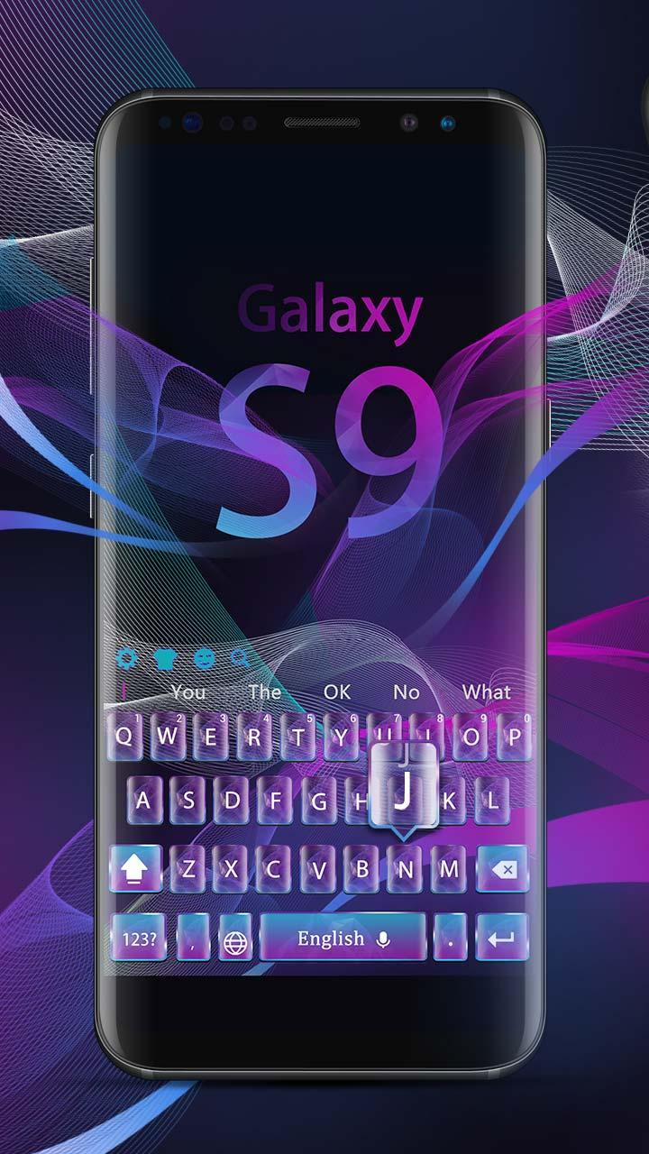 Galaxy S9 Samsung Keyboard Theme for Android - APK Download