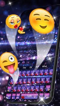 Lustrous Twinkling Keyboard Theme screenshot 2