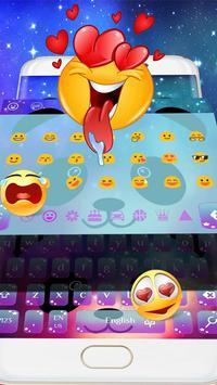 Cartoon Unicorn Panda Keyboard Theme screenshot 1