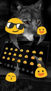 Wild Wolf Keyboard Theme screenshot 2
