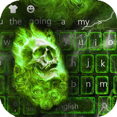 Hellfire Skull keyboard Theme icon