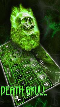 Hellfire Skull keyboard Theme poster