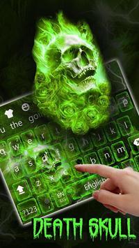Hellfire Skull keyboard Theme screenshot 1