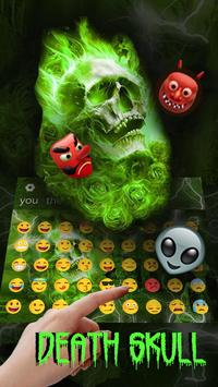 Hellfire Skull keyboard Theme screenshot 2