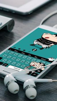 Crayon Shin-chan keyboard theme screenshot 1