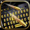 Gunnery Revolver Bullet Keyboard أيقونة