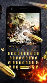 Gunnery Revolver Bullet Keyboard screenshot 1