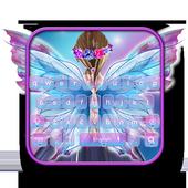 Fairy Wings Keyboard Theme أيقونة