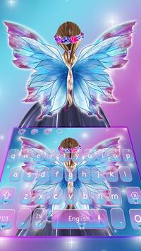 Fairy Wings Keyboard Theme screenshot 3
