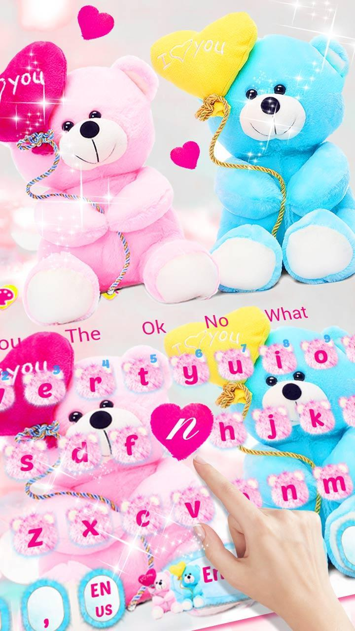 Love Teddy Bear Keyboard Theme Sweet Love For Android Apk Download